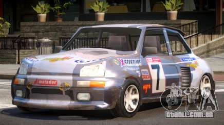 Rally Car from Trackmania PJ2 para GTA 4