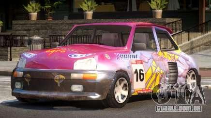 Rally Car from Trackmania PJ4 para GTA 4