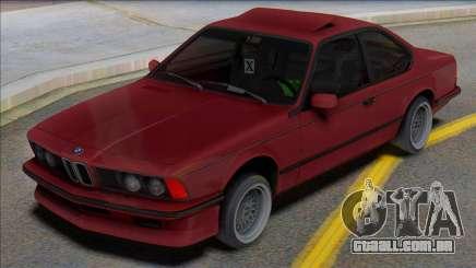 BMW E24 para GTA San Andreas