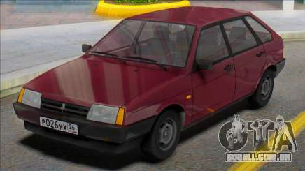 Placas russas Vaz-2109 para GTA San Andreas
