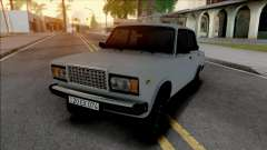 Vaz 2107 20-EX-074 para GTA San Andreas