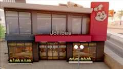 Jollibee Store Las Venturas para GTA San Andreas