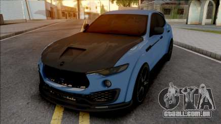 Maserati Levante Mansory para GTA San Andreas