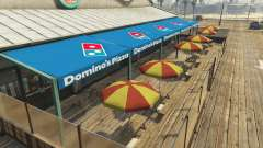 Dominos Pizza para GTA 5