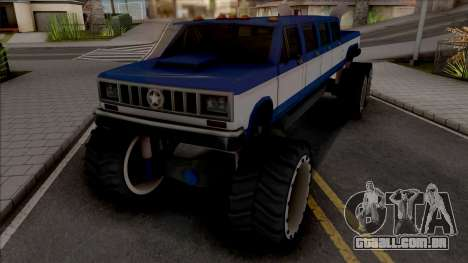 Bobcat Lifted Truck para GTA San Andreas