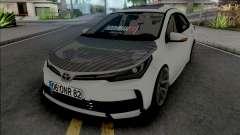 Toyota Corolla Carbon Style para GTA San Andreas