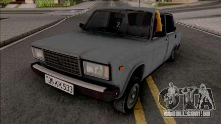 Cinza Vaz 2107 para GTA San Andreas