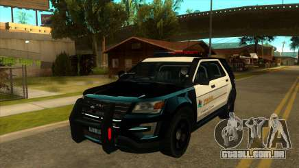 PECUar da polícia V1 para GTA San Andreas