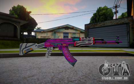 AK47 Armageddon Imperial Driver para GTA San Andreas