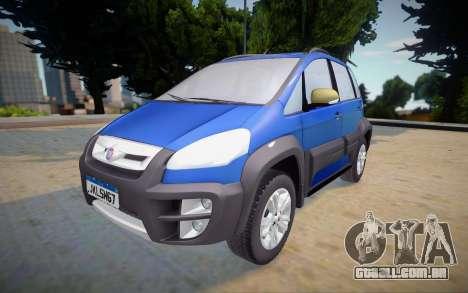Fiat Idea Adventure 2011 para GTA San Andreas