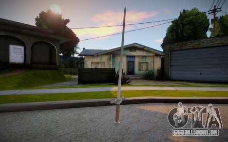 Old Russian Sword para GTA San Andreas