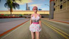DOAXVV Honoka Sweety Valentines Day para GTA San Andreas