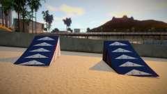 Beach Ramps Cleo Mod Verona Beach para GTA San Andreas