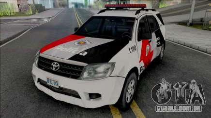 Toyota Hilux SW4 PMESP para GTA San Andreas