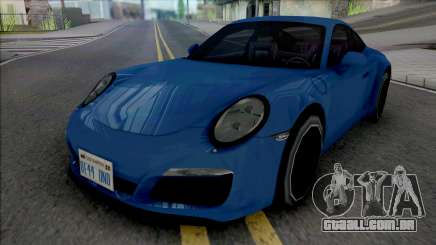 Porsche 911 Carrera 4 2017 Improved para GTA San Andreas