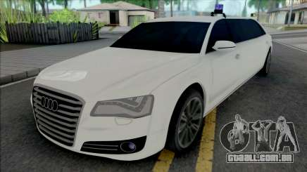 Audi A8 Limo para GTA San Andreas
