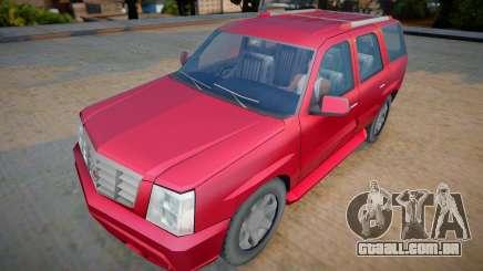 Cadillac Escalade 2006 - Improved para GTA San Andreas