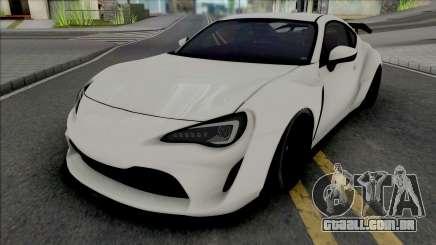 Subaru BRZ Artisan Spirit para GTA San Andreas