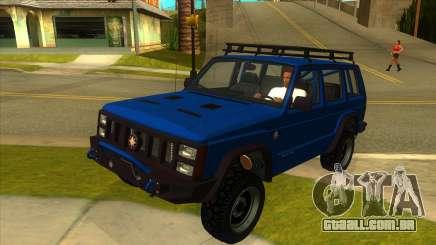 GTA V Canis Seminole Frontier para GTA San Andreas