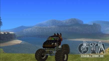 Caminhão monstro kisaan para GTA San Andreas