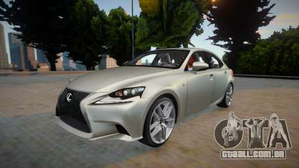 Lexus IS350 F-sport 2014 para GTA San Andreas