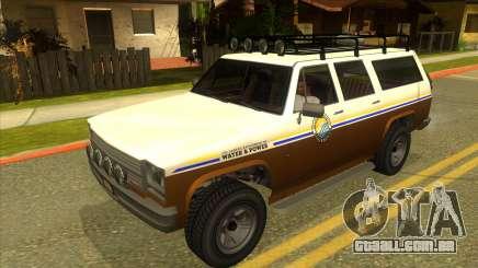 GTA V Rancher XL para GTA San Andreas