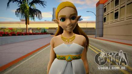 Zelda Goddes Dress Breath Of The Wild para GTA San Andreas