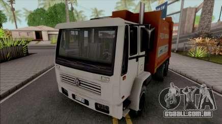 Volkswagen 16200 Garbage Truck (DFT-30 Edition) para GTA San Andreas
