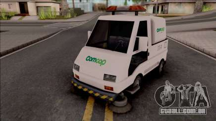 Sweeper Comcap SC para GTA San Andreas