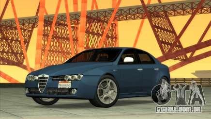 Alfa-Romeo 159 Ti 2007 para GTA San Andreas