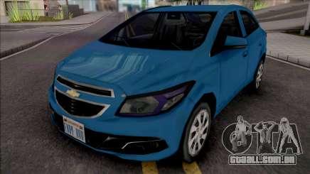 Chevrolet Onix LT 2013 para GTA San Andreas