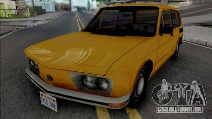 Volkswagen Brasilia 1975 para GTA San Andreas