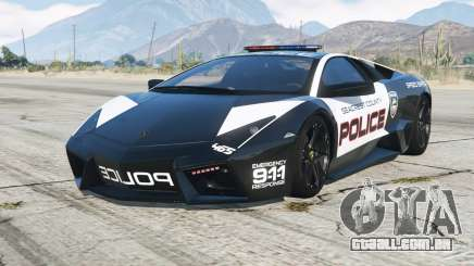 Lamborghini Reventon 2008〡Hot Pursuit Police para GTA 5