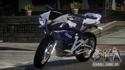 Yamaha R6 G-Style L1 para GTA 4