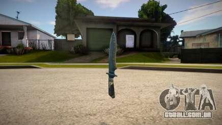 Knife from Counter Strike 1.6 para GTA San Andreas