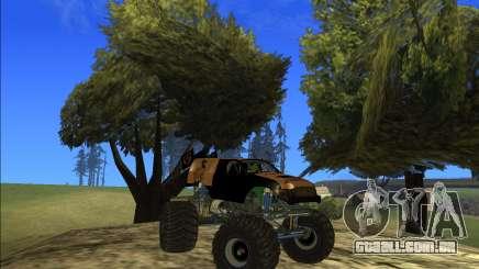Nenhum fazendeiro sem caminhão monstro alimentar para GTA San Andreas