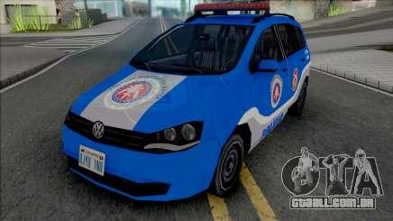 Volkswagen Spacefox 2012 PMBA para GTA San Andreas