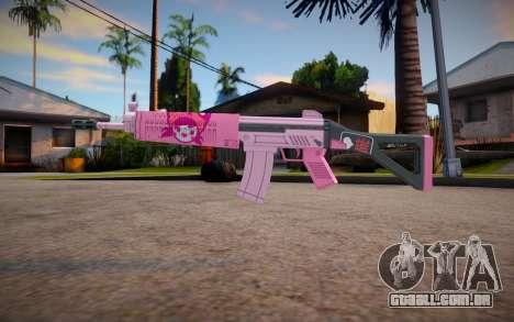 APB SR15 Carbine (Otome Neko) para GTA San Andreas