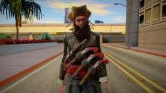 Edward Blackbeard para GTA San Andreas
