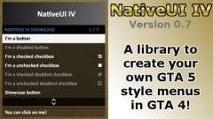 NativeUI IV para GTA 4