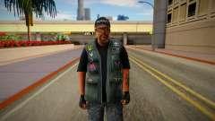 GTA V Ammunation Seller To SA para GTA San Andreas