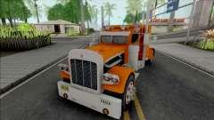 Kenworth W900 Orange para GTA San Andreas