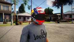 SUOMY SR-GP Helmet [Andrea Dovizioso 2019 Editio para GTA San Andreas