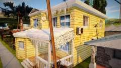 Winter OG Loc House para GTA San Andreas