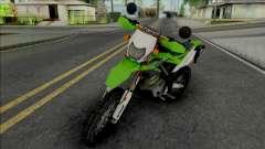 Kawasaki KLX 150 Green para GTA San Andreas
