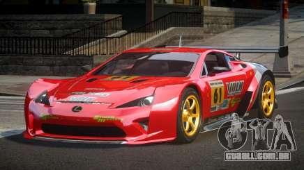 Lexus LFA PSI-R L1 para GTA 4