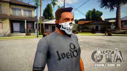 New Half Skull Mask para GTA San Andreas