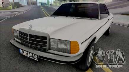 Mercedes-Benz W123 CE Coupe 1986 para GTA San Andreas