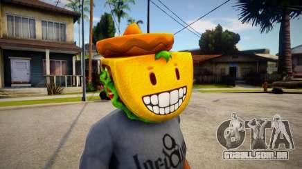 GTA V Taco Mask For Cj para GTA San Andreas