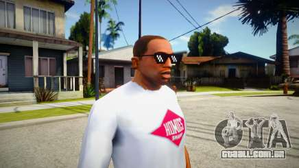 Turn Down For What Glasses For Cj para GTA San Andreas